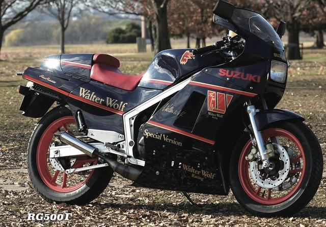 画像: SUZUKI RG500Γ www.motormagazine.co.jp