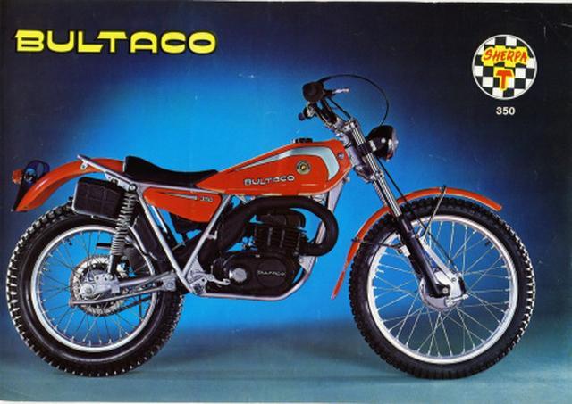 画像: トライアルに2ストロークを導入したBultaco Sherpa T trialsguru.files.wordpress.com