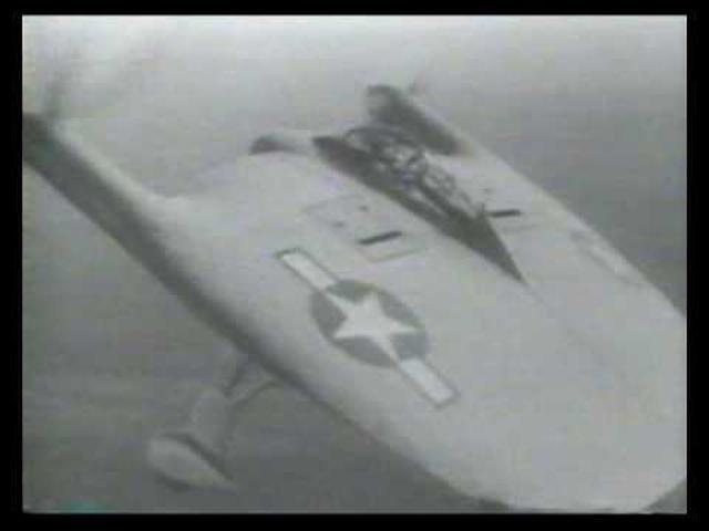 画像: Vought V-173 Flying Pancake www.youtube.com