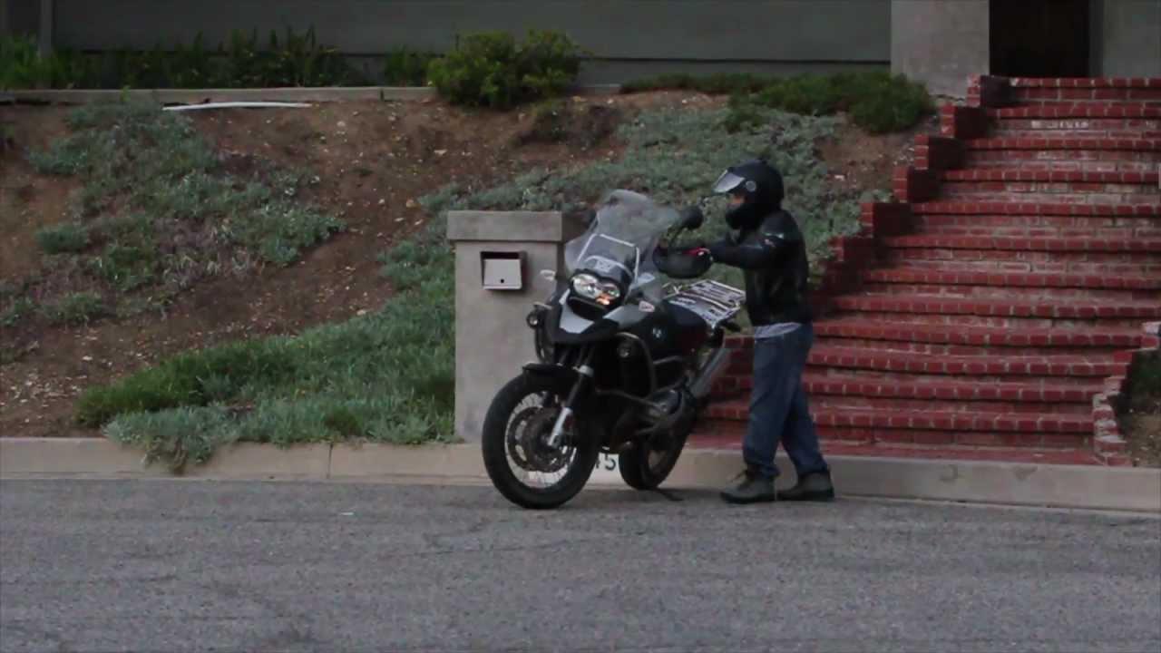 画像: BMW R 1200 GS short rider youtu.be