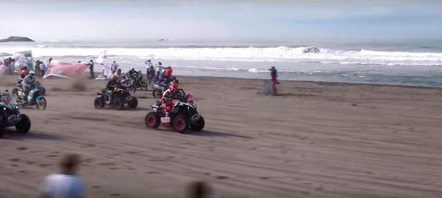 画像: ステージ4の海岸走り! 迫力満点です! www.youtube.com