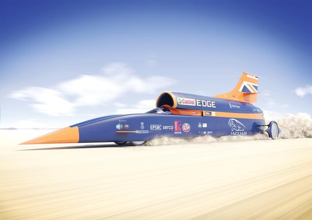 画像: Fly through the 1,000mph BLOODHOUND Supersonic Car youtu.be