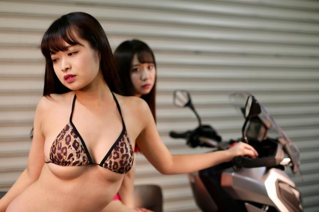画像3: 【Beauty & Bike】かれんなりりさとX-ADV vol.11