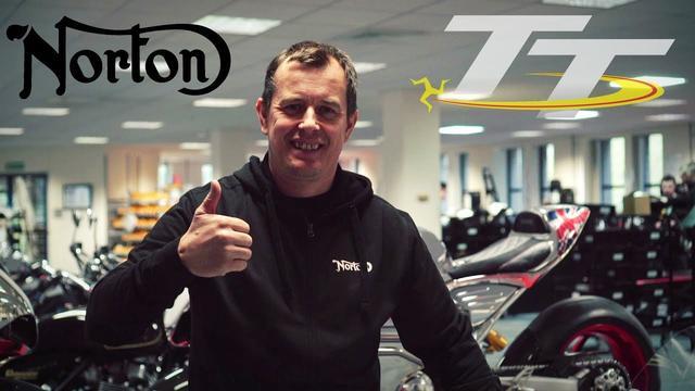 画像: John McGuinness to ride for Norton at TT 2018 youtu.be