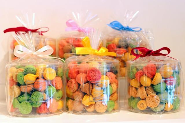 画像: マカロンボーロ 60g  972円(税込) macaron-et-chocolat.jimdo.com
