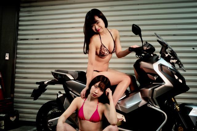画像2: 【Beauty & Bike】かれんなりりさとX-ADV vol.20