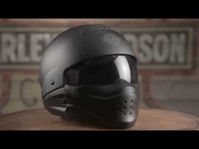 画像: Pilot 3-In-1Helmets | Harley-Davidson www.youtube.com