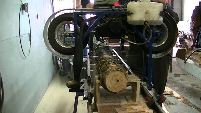 画像: Moulin a scie de poche partie 2 (homemade sawmill) youtu.be