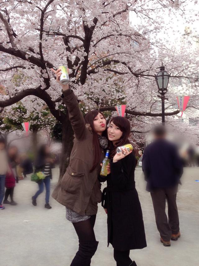 画像1: 春は桜とお酒とミク様♡お花見の計画はお早めに〜!!【水曜日のミク様】