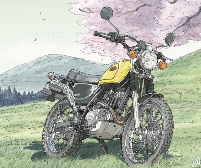 画像: 旧友(バイク)との別れを決意した老人と、孫娘の話 〜RIDE「Let wind blows」(東本昌平先生)より