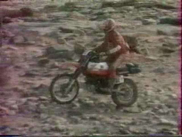 画像: Paris Dakar 1983 Film Promo Honda part1 youtu.be