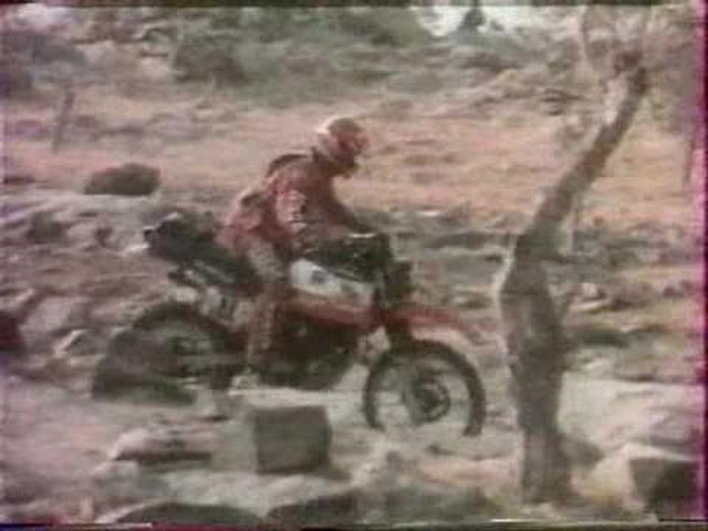 画像: Paris Dakar 1983 Film Promo Honda part2 youtu.be