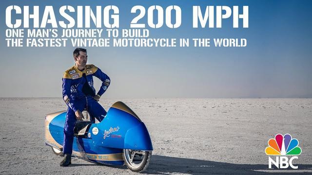 画像: Chasing 200 MPH - One Man's Journey To Build The World's Fastest Vintage Motorcycle - NBC News www.youtube.com
