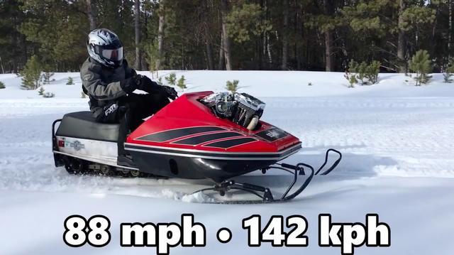 画像: ギアボックスは6速で、最高速度は時速88マイル! (約142km)です。なかなかのパフォーマンスですね。 www.youtube.com