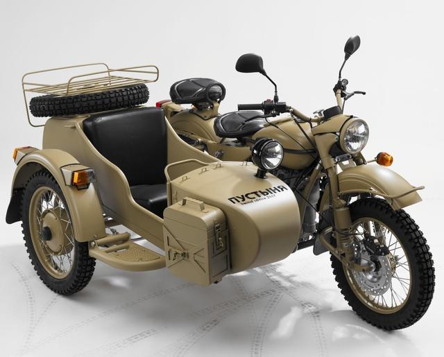画像: Sahara 2WD www.ural-jp.com