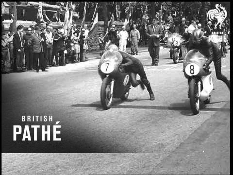 画像: Senior T. T. Race (1967) youtu.be