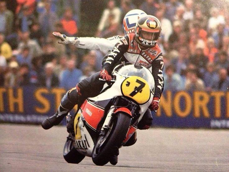 画像: ふたりのGP500ccクラス王者、バリー・シーンとマルコ・ルッキネリです。 www.pinterest.jp
