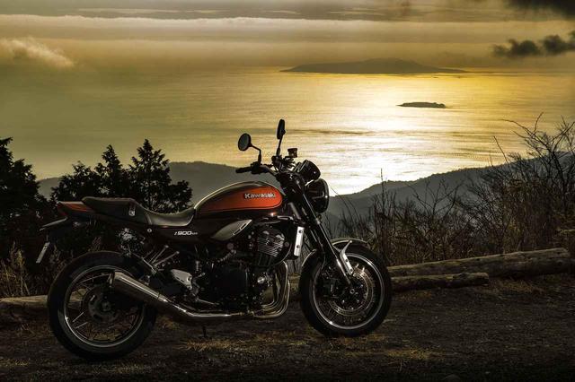 """画像: [AD]  """"KAWASAKI / Z900RS""""6速/2000回転。旅する『Z』は別の顔。 - LAWRENCE - Motorcycle x Cars + α = Your Life."""