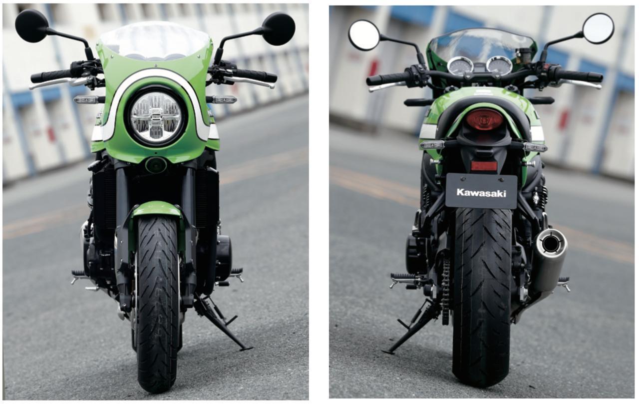 画像: 後ろから前からどうぞ。 Kawasaki Z900RS CAFE(2018年3月1日発売、税込135万円) - LAWRENCE - Motorcycle x Cars + α = Your Life.