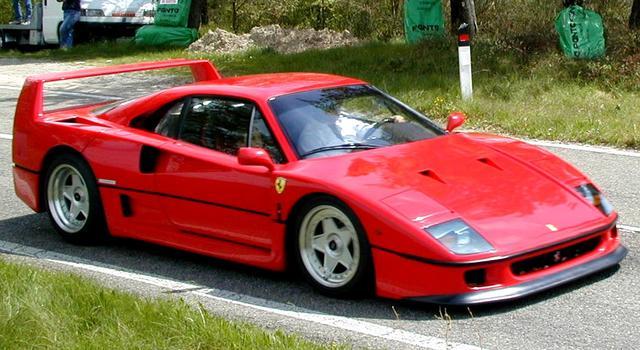 画像: Ferrari・F40 cloudlakes.com
