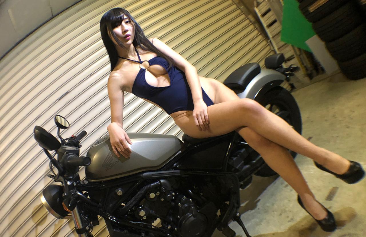 画像7: 【Beauty & Bike】澪とRebel vol.09