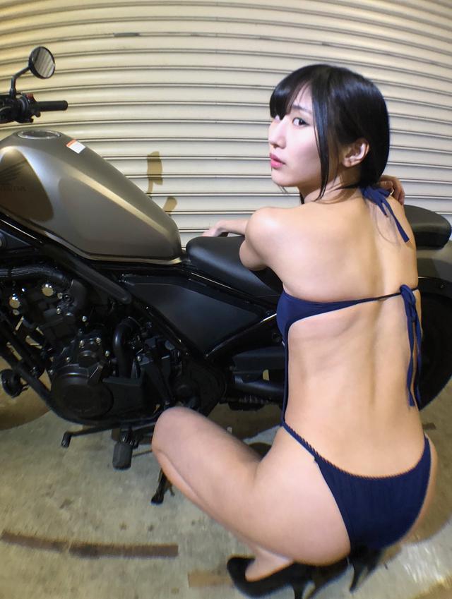 画像2: 【Beauty & Bike】澪とRebel vol.13