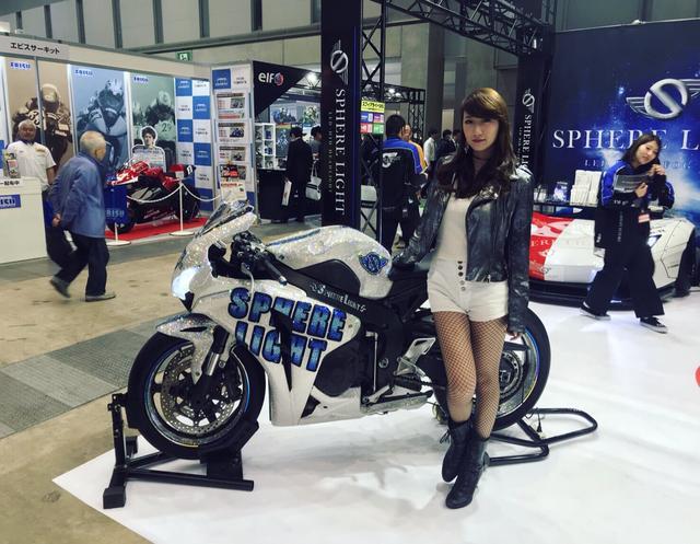 画像5: 『東京モーターサイクルショー2018』プレスデーに潜入!!こんなバイクに乗ってみたい!いや!乗せて♡笑
