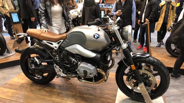 画像: 売上絶好調のBMW Motorradのブース