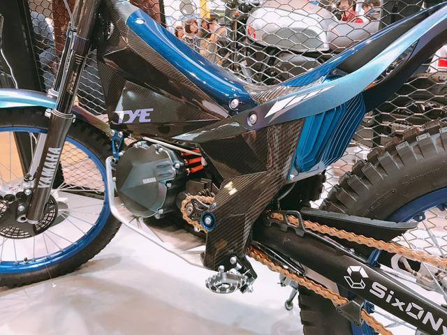 画像1: ヤマハ電動トライアルバイク「TY-E」初お目見え!FIMトライアル世界選手権も出場決定