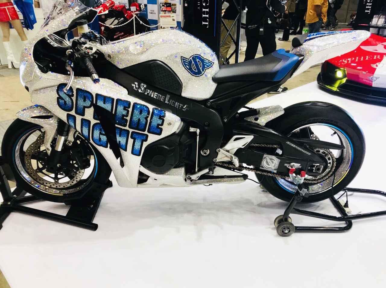画像4: 『東京モーターサイクルショー2018』プレスデーに潜入!!こんなバイクに乗ってみたい!いや!乗せて♡笑