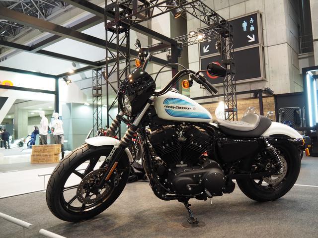 画像: 東京モーターサイクルショーで日本初公開となった『Iron 1200™ 』