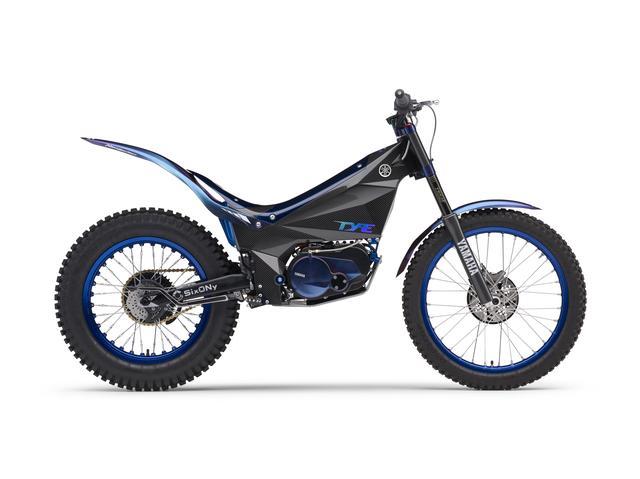 画像: 電動ならではの特長を活かした電動トライアルバイク「TY-E」