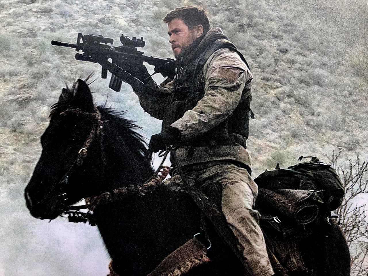 画像: 主演はマイティ・ソーで大ブレイクのクリス・ヘムズワース http://gaga.ne.jp/horsesoldiers/