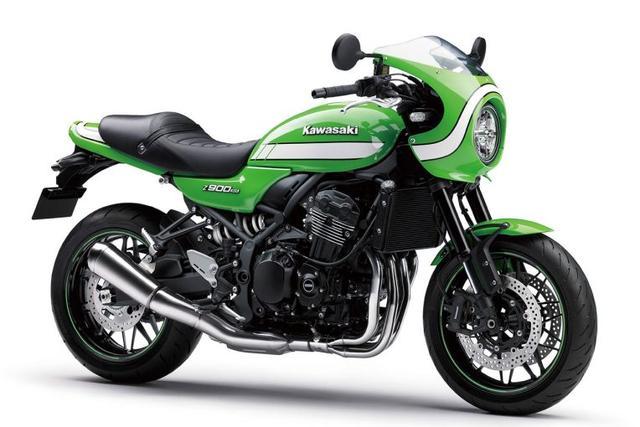 画像: Z900RS CAFE ヴィンテージライムグリーン 1,350,000円(税込) www.kawasaki-motors.com