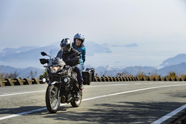 画像3: バイクをよく知らない女の子といきなりツーリングしてみたら、カワサキのヴェルシスXが無双だった!