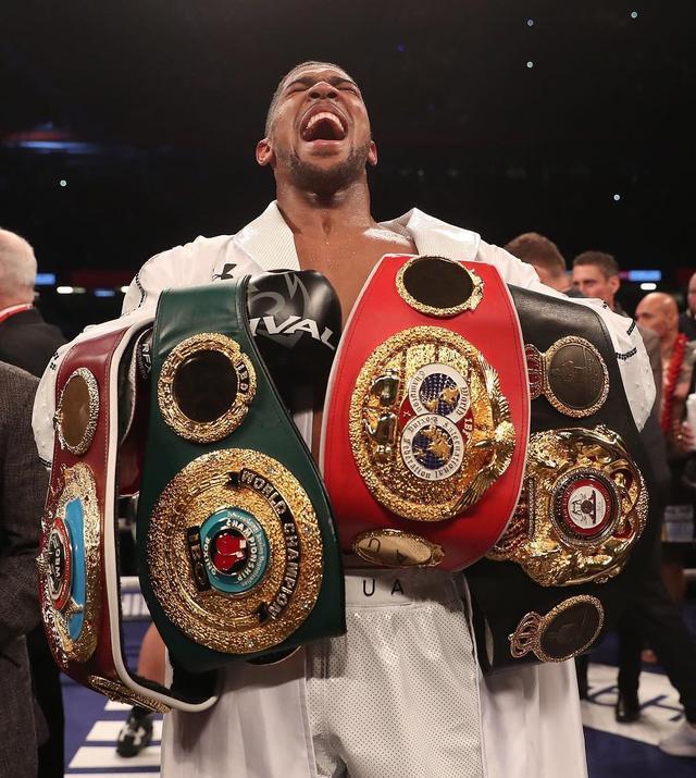画像1: Anthony JoshuaさんはInstagramを利用しています:「Following the path that has been walked by boxing legends #AJBXNG」 www.instagram.com