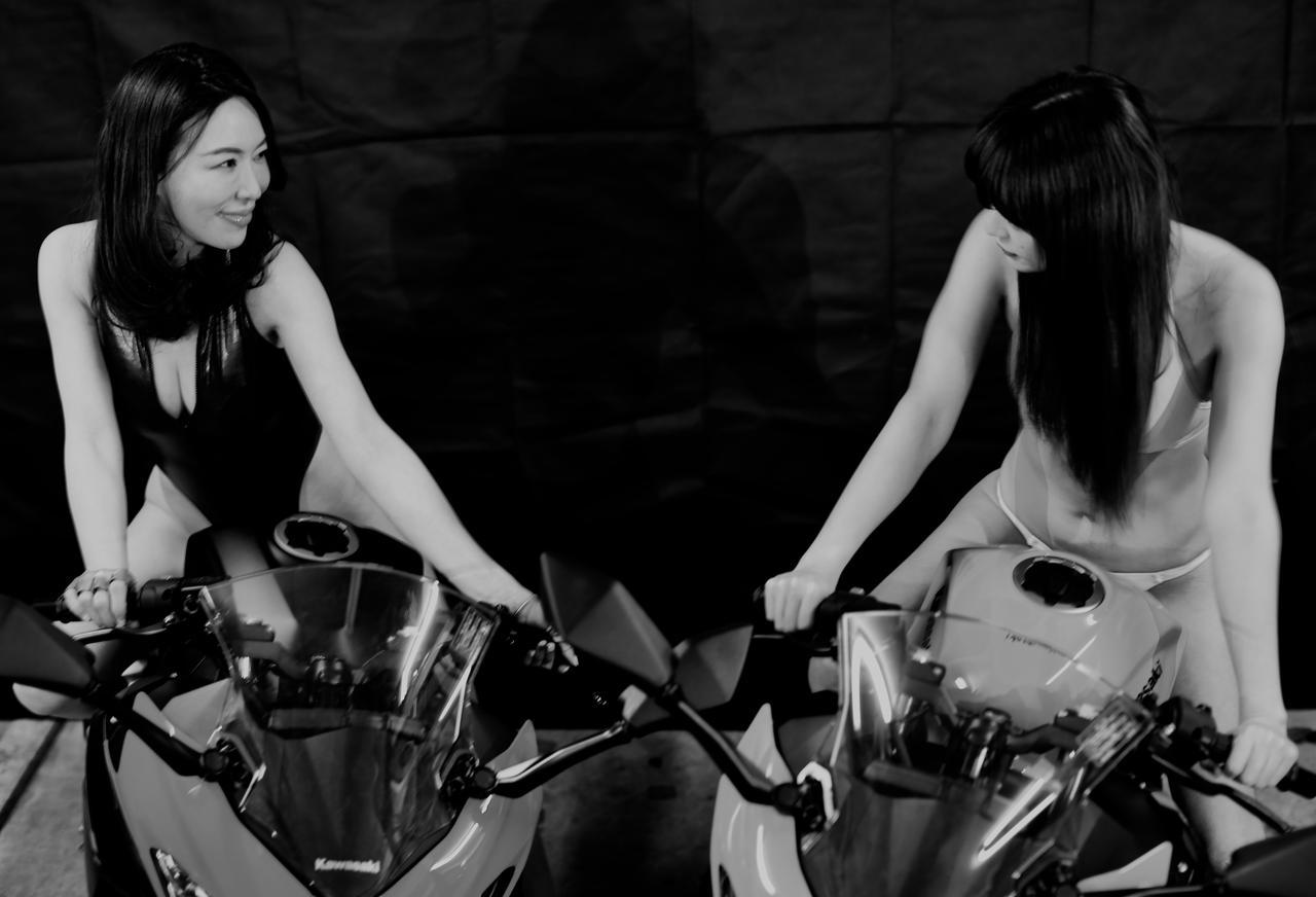 画像1: 【Beauty & Bike】あやと和子とニンジャ vol.12