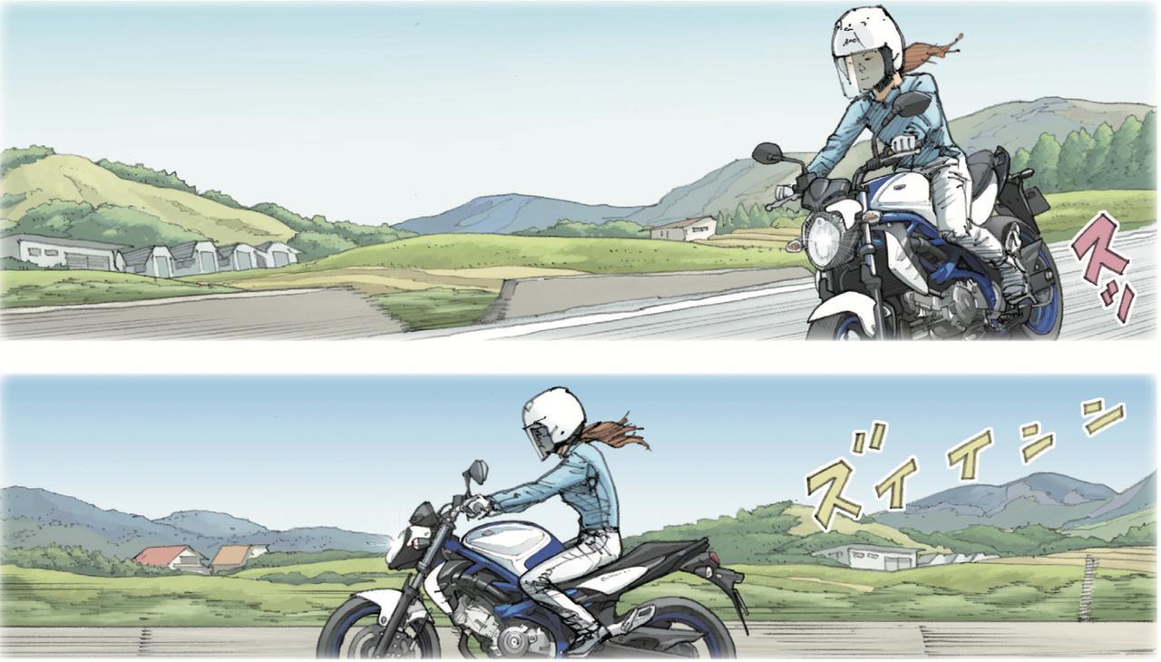 画像2: 風の中を駆け抜けていった女性ライダーの背中を見た時、なぜかバイクに乗ろうという気分が僕の胸におりてきた