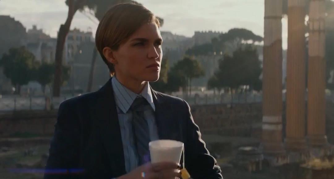 画像1: Ruby RoseさんはInstagramを利用しています:「When in Rome... and it's 5 am so your tea makes it into the film. #JOHNWICK2  Also why do I look like I'm a passerby on a news channel…」 www.instagram.com