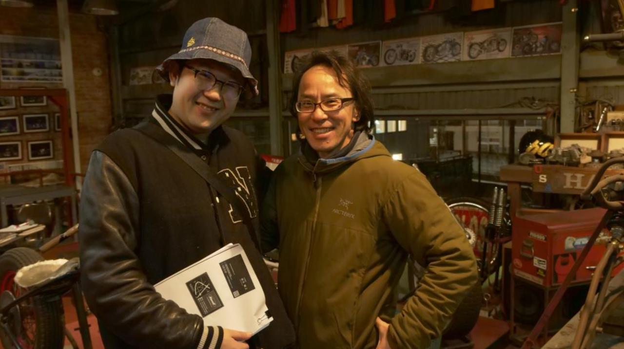画像: 伊藤監督(左)とツーショット。