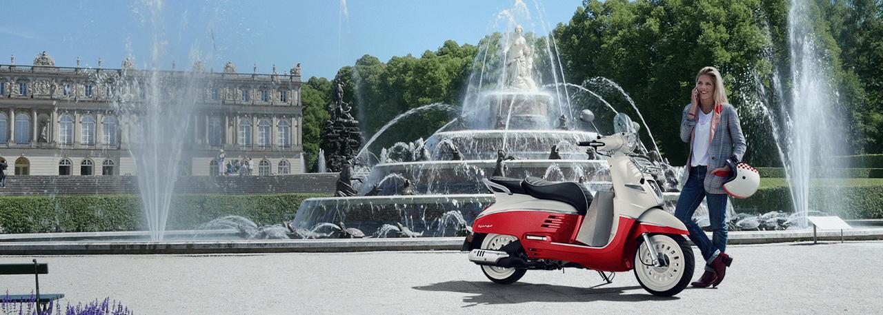 画像: プジョーのスクーター・モーターサイクル Peugeot Scooters(プジョースクーターズ)