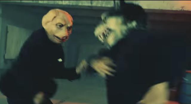 画像: 狼vs豚