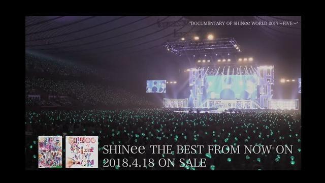 画像: SHINee - ベストアルバム「SHINee THE BEST FROM NOW ON」DOCUMENTARY OF SHINee WORLD 2017~FIVE~ダイジェスト youtu.be