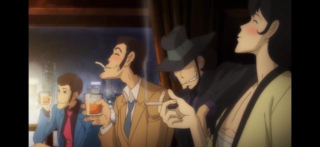 画像: 敵味方なくほろ酔いw 銭形警部と五右衛門の滅多に見せない蕩けた笑顔がいい! lupin-pt5.com