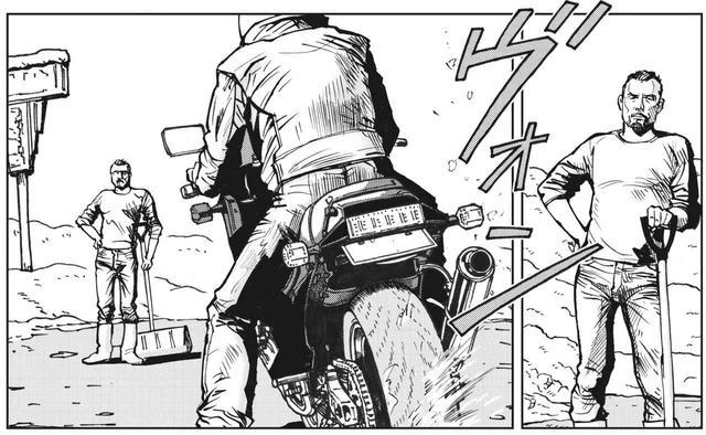 画像: 安定した生活と仕事を捨てた中年男ってどうよ? 〜『雨はこれから』第28話「雪原の花火に」より - - LAWRENCE - Motorcycle x Cars + α = Your Life.