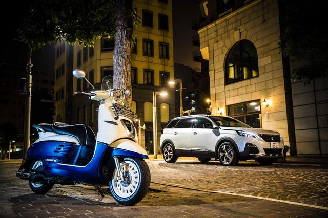 画像1: プジョーは自動車だけじゃない。 そのスクーターも『格』が違う。