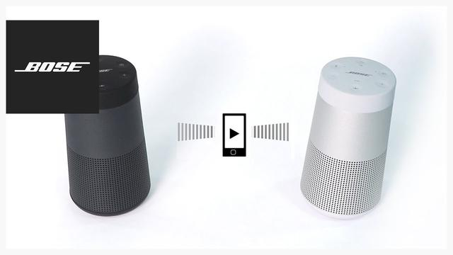 画像: Bose SoundLink Revolve – Party and Stereo Modes youtu.be