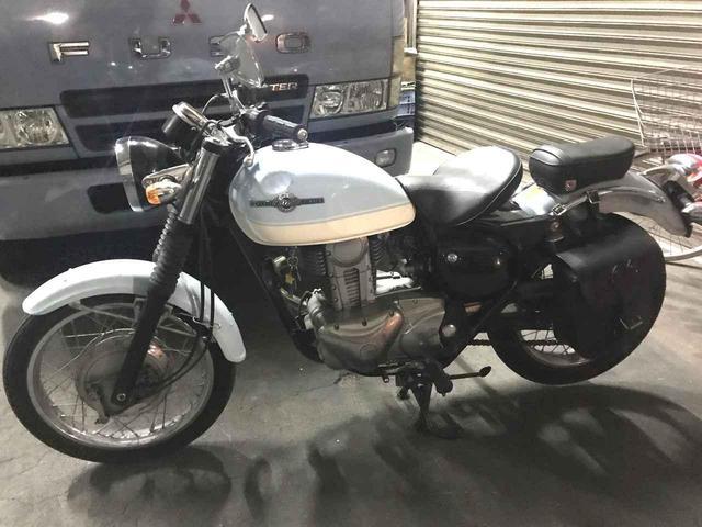 画像1: カスタムのコンセプトは 「大人かわいいクラシックバイク」!