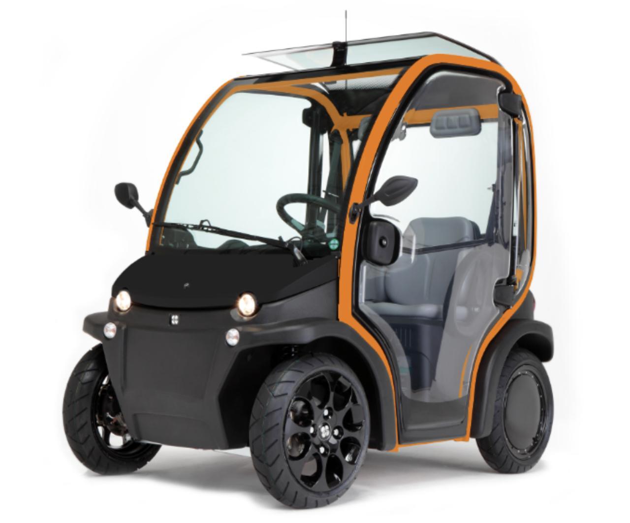 画像: こちらはボンネットカラーをブラック、フレームカラーをオレンジ系(21番カラー)にしてみたもの www.birojapan.com