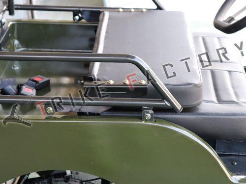 画像2: オトナの全力外遊び!2人で乗れる4輪ミニカー「ビッグフォースIII」が楽しそうすぎる
